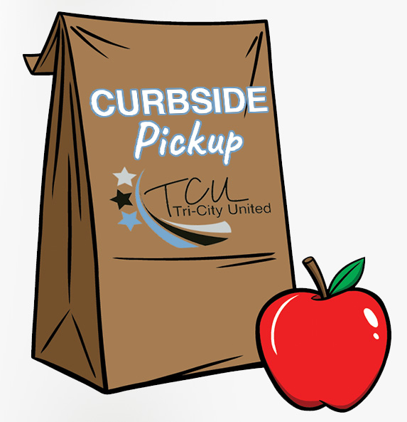 image of curbside only