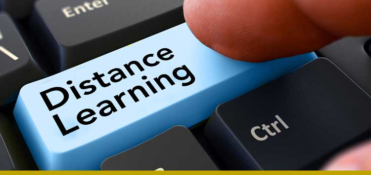 image of distance learning