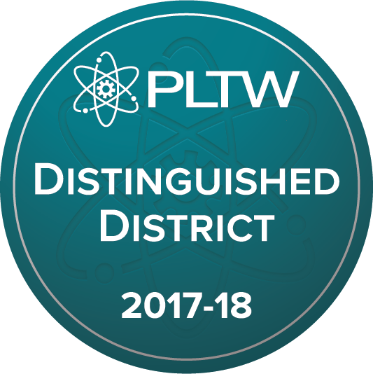 PLTW Distinguished District 2017- 2018