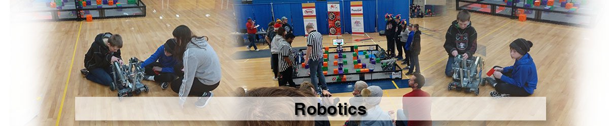 Image of kids in robotics