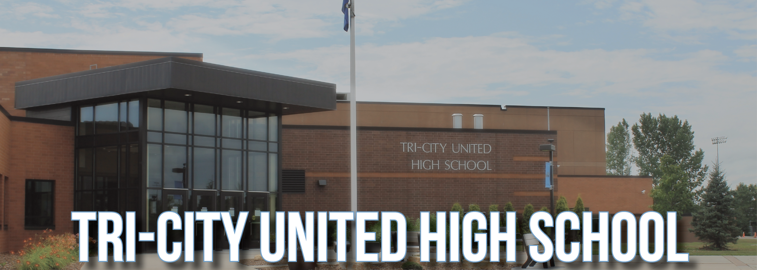 tri-city united high school building image
